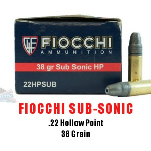 Fiochhi Subsonic Bullets