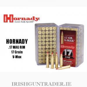 Hornady .17 Mag Rim 17gr V-Max